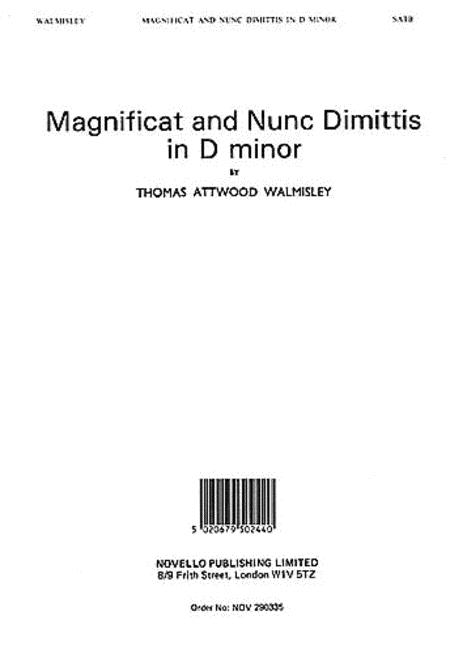 Magnificat and Nunc Dimittis in D minor