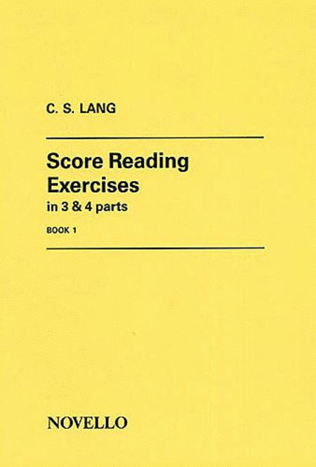 Score Reading Exercises - Book 1