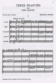 3 Shanties Op. 4