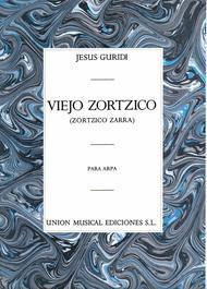 Viejo Zortzico For Harp