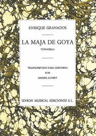 La Maja de Goya from Tonadilla