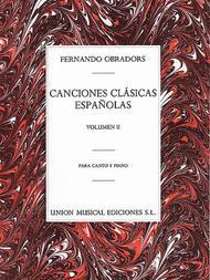 Canciones Clasicas Espanolas - Volumen II