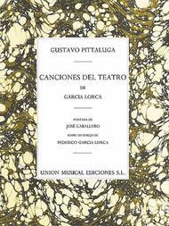 Pittaluga: Canciones Del Teatro De Garcia Lorca