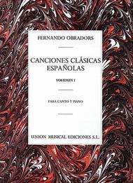 Canciones Clasicas Espanolas - Volumen I