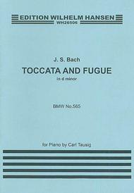 J.S.Bach: Toccata And Fugue In D Minor (Piano)