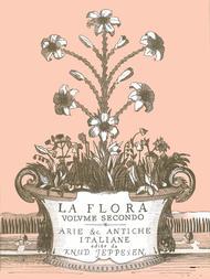 Knud Jeppesen: La Flora - Volume 2
