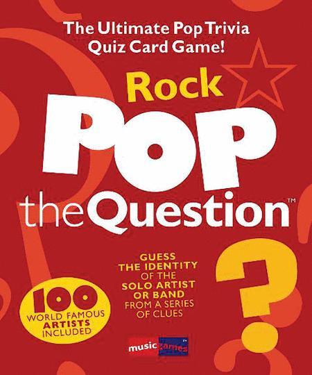 Pop the Question - Rock