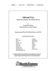 Advent Cry (from The Winter Rose)
