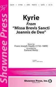 Kyrie (from Missa Brevis Sancti Joannis de Deo)