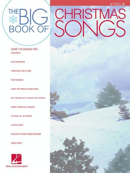 Big Book of Christmas Songs (Viola)