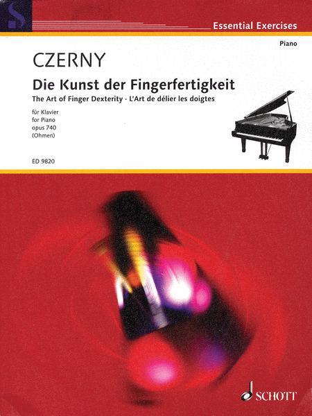 The Art of Finger Dexterity op. 740