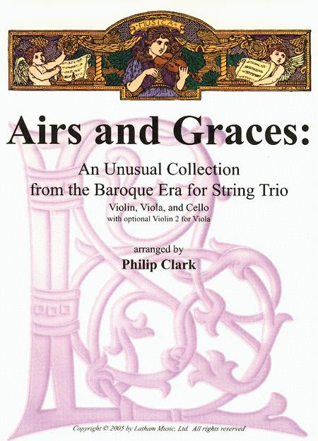 Airs and Graces: An Unusual Collection from the Baroque Era for String Trio - Set of Parts