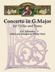 Concerto in G Major for Violin and Piano
