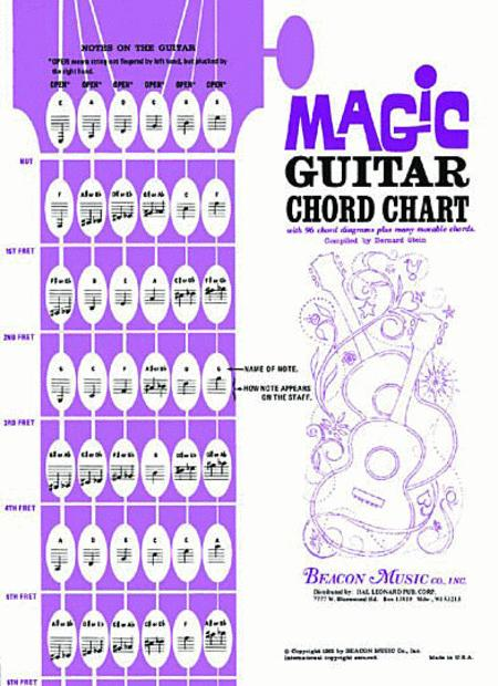 Magic Guitar Chord Chart Sheet Music By Bernard Stein - Sheet Music Plus