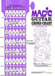 magic guitar chord chart sheet music by bernard stein sheet music plus rh sheetmusicplus com Spanish Guitar Chords Chart guitar magic chord accompaniment guide