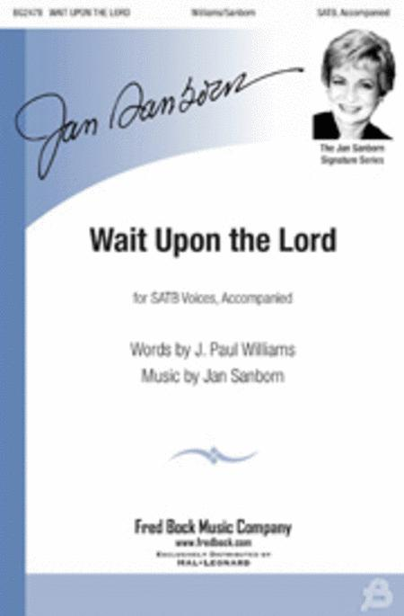 Wait Upon the Lord - Rehearsal CD