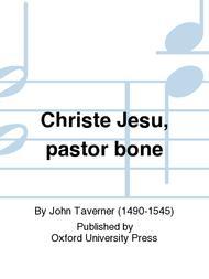 Christe Jesu, pastor bone