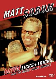 Matt Sorum - Drum Licks+Tricks from the Rock+Roll Jungle
