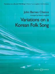 Variations on a Korean Folk Song