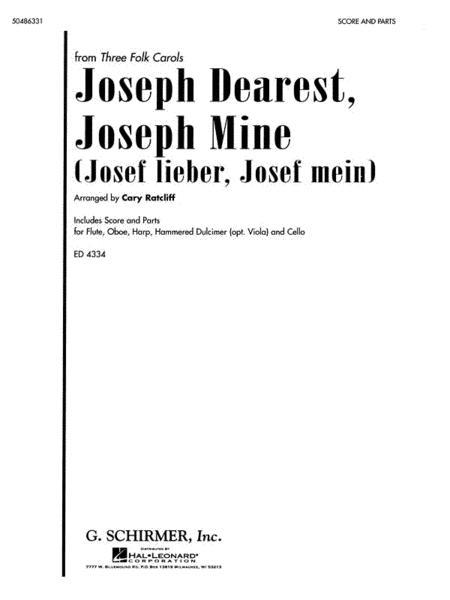 Joseph Dearest, Joseph Mine (Josef Lieber, Josef Mein)