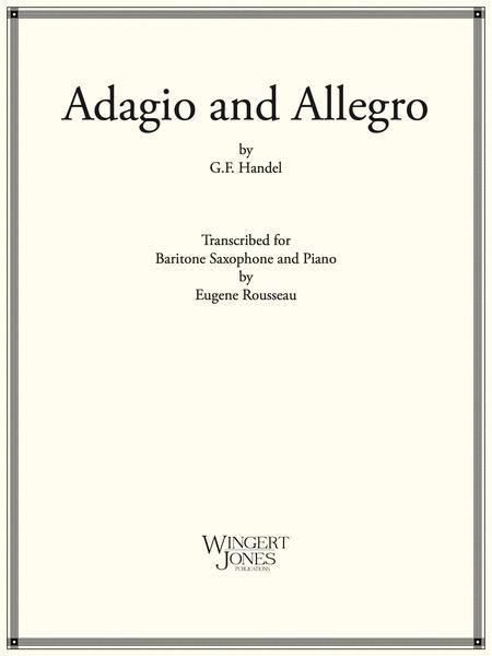 Adagio and Allegro - Baritone Sax (P.O.D.)