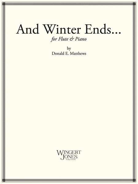And Winter Ends - Flute Solo (P.O.D.)