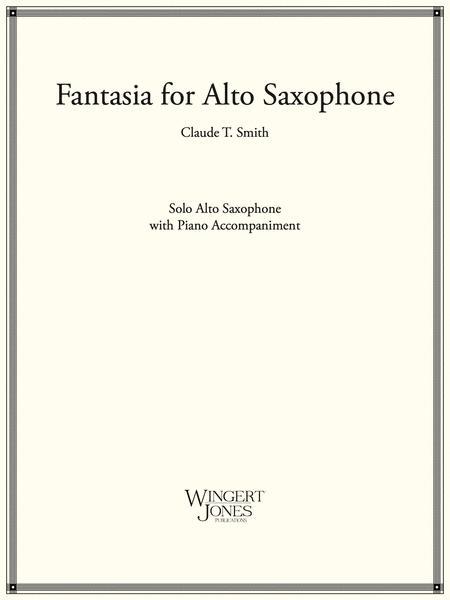 Fantasia for Alto Saxophone
