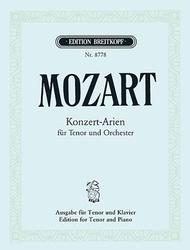 Complete Concert Arias for Tenor