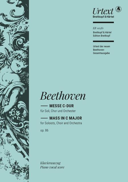 Mass in C major Op. 86