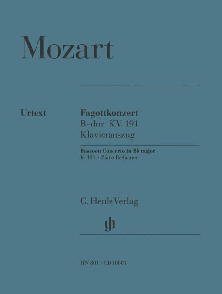 Bassoon Concerto in Bb major K. 191 (186e)