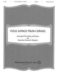 Folk Songs of Israel