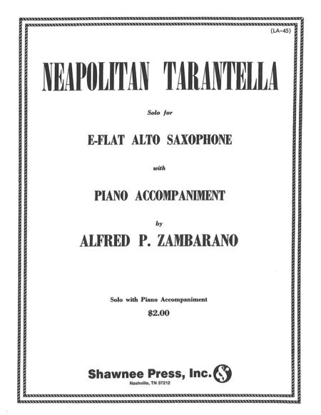 Neapolitan Tarantella Alto Saxophone/Piano