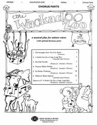 The Wackadoo Zoo Student Book