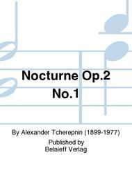 Nocturne Op. 2 No. 1