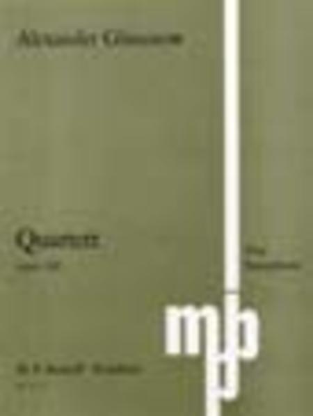 Saxophone Quartet in Bb Op. 109