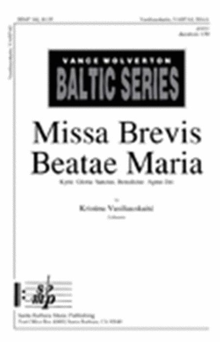 Kyrie from Missa Brevis in Honorem Beata Maria Virginis
