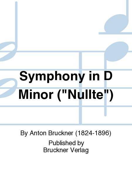 Symphony in D Minor ('Nullte')