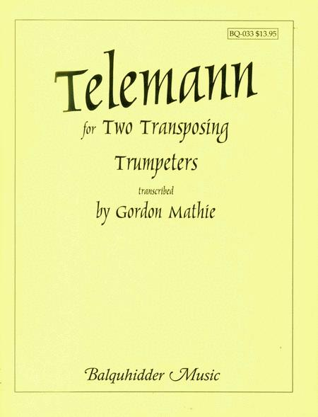 Duets For Two Transposing Trumpeters
