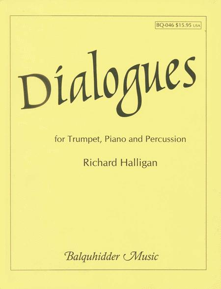 Dialogues For Trumpet, Piano & Percussion