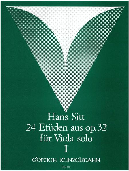 24 Etudes from Op. 32 Vol. 1 for Solo Viola