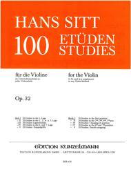 Etudes (100) Op. 32 - Volume 1