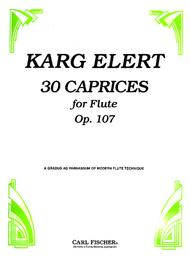 3 Caprices For Flute