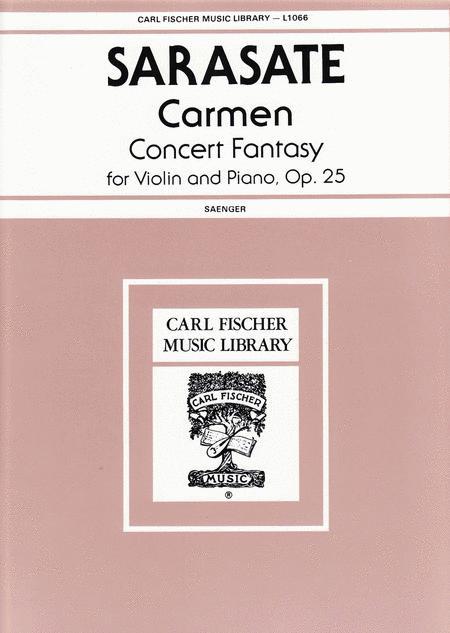 Carmen Concert Fantasy