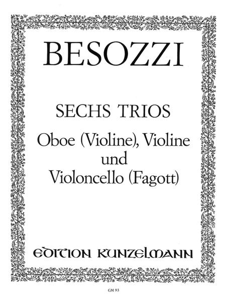 6 Trios for Oboe, Violin, and Violoncello