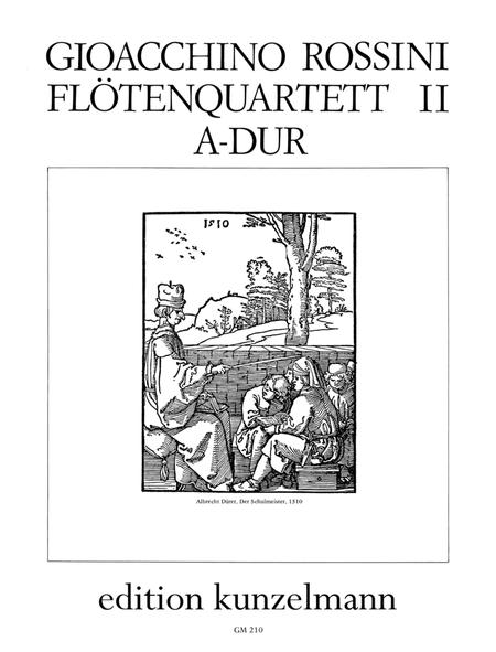 Flute Quartet No. 2 in A