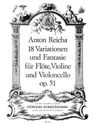 Variations (18) and Fantasy in G Major, Op. 51