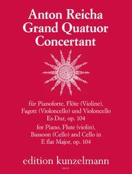 Grand Quatour Concertante in E flat Op. 104