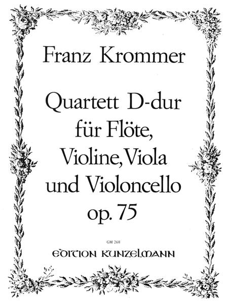 Flute Quartet in D Major, Op. 75