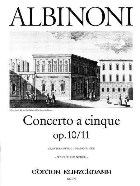 Concerto a cinque in G Minor Op. 10 No. 11
