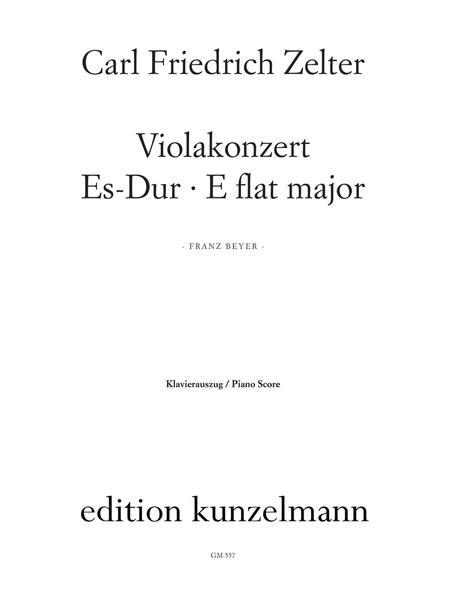 Viola Concerto in Eb Major